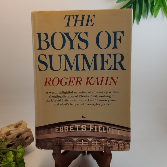 Vintage Other - VTG Book 1971 First Edition The Boys of Summer